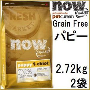 NOW FRESH ナウ フレッシュ Grain Free パピー 2.72kgx2袋+アーテミスアガリクス60g|shopping-hers