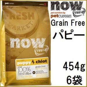 NOW FRESH ナウ フレッシュ Grain Free パピー 454gx6袋|shopping-hers