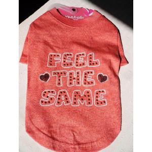 Sale! Pinkaholicピンカホリック FeelTheSameTシャツ オレンジ・オートミール・ネイビー|shopping-hers