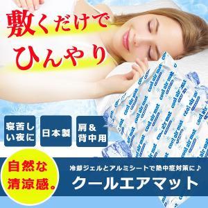 繰り返し使えてお手入れ簡単!  敷くだけでひんやり気持ちいいクールエアマットです。  寝苦しい夜や熱...
