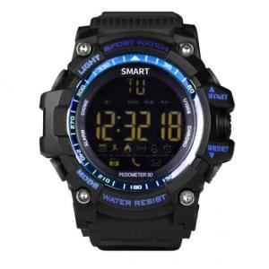 スマートウォッチ EX16 スポーツ/運動ウォッチ 防水 長時間バッテリー Bluetooth 歩数、距離、カロリー消耗 多機能腕時計