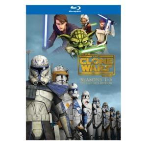 スター・ウォーズクローン・ウォーズシーズンズ1-5 [ブルー 北米版 Star Wars: The Clone Wars - Seasons 1-5 (Collector's Edition
