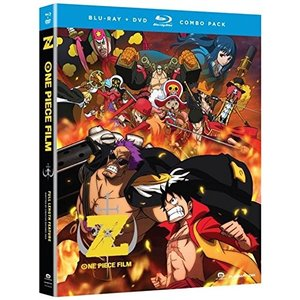 北米版 ワンピースフィルム Z ブルーレイ One Piece: Film Z (Blu-ray/D...