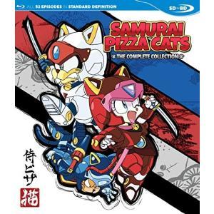キャッ党忍伝てやんでえ シリーズSD-BD ブルーレイ 北米版 Samurai Pizza Cats