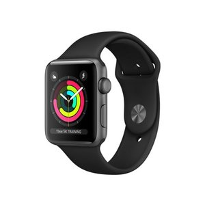 Apple Watch Series 3 GPSモデル 42mm MQL12J/A [ブラックスポーツバンド]|shoppinghiroba