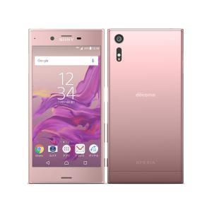 未使用品 Xperia XZ SO-01J Deep Pink 白ロム|shoppinghiroba