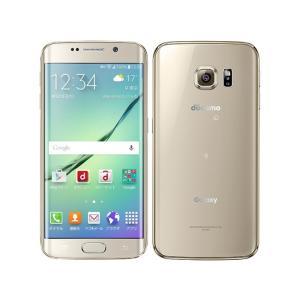 新品 simロック開錠品 Galaxy S6 edge SC-04G docomo [Gold Platinum] 白ロム|shoppinghiroba