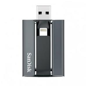 新品未使用 SanDisk iXpand フラッシュドライブ 128GB SDIX-128G-J57|shoppinghiroba