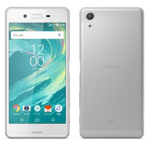未使用 AU Xperia X Performance SOV33 White 白ロム|shoppinghiroba
