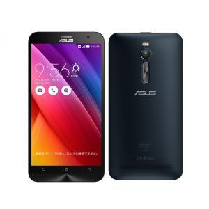 新品未開封(※SIMフリー) ZenFone 2 ZE551ML-BK32S4 SIMフリー [ブラック]  白ロム|shoppinghiroba