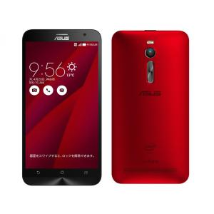 新品未使用(※SIMフリー) ZenFone 2 ZE551ML-RD32S4 SIMフリー [レッド]  白ロム|shoppinghiroba