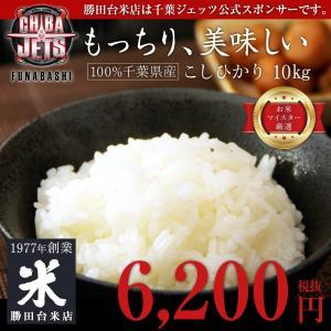 【千葉ジェッツ公式オフィシャルライススポンサー】【送料無料】 千葉県産こしひかり 10kg(5kgx2袋)|shoppingjapan