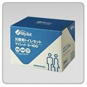 防災グッズ マイレット S-100 災害 水のいらない 簡易トイレ 非常用 非常時 災害 2013防災 c shoppingjapan