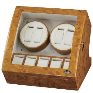 ローテンシュラガー LED ワインディングマシーン 4本巻き ライトブラウン