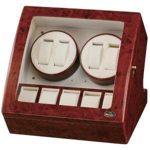 ローテンシュラガー LED ワインディングマシーン 4本巻き ブラウン