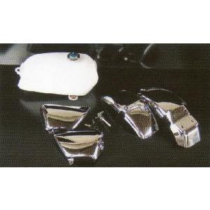 エイプ用 外装5点セット ホワイトタンク shopraptor
