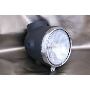 モンキー用 4Lタイプ ヘッドライト オールセット ブラック|shopraptor