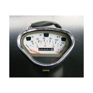DAX・シャリー用メーター140km表示 ホワイトフェイス shopraptor