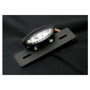 LEDテールランプ付ナンバーステー shopraptor