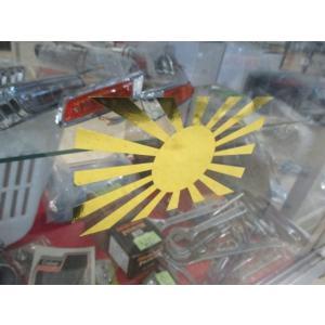 日章カッティングステッカー shopraptor