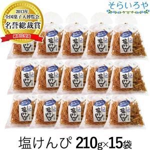 塩けんぴ 1箱(240g×15袋) 四万十郷本舗(南国製菓/水車亭)
