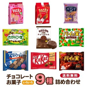 チョコレート お菓子の詰め合わせ 9種類 バラエティセット