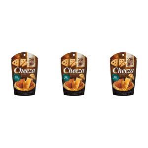 生チーズのチーザ 燻製 チーズ味 おつまみ 3袋セット 江崎グリコ