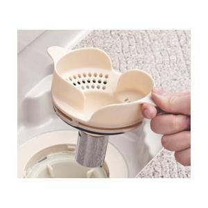 トクラス(ヤマハリビングテック) システムバスルーム オプション 浴室排水口ヘアキャッチャー、カミト...