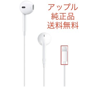 iPhone イヤホン 純正 EarPods with Lightning Connector