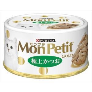 ネスレ日本 モンプチ ゴールド缶 極上かつお 70g× 24点|shoptakumi