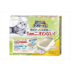 ユニ・チャーム 1週間消臭・抗菌デオトイレ フード付きナチュラルアイボリー|shoptakumi