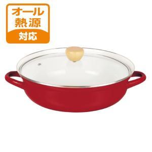 パール金属 S ホーローガラス鍋卓上鍋27cm[HB-4273]|shoptakumi
