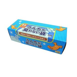 クリロン化成 うんちが臭わない袋BOS ペット用 SSサイズ 200枚|shoptakumi