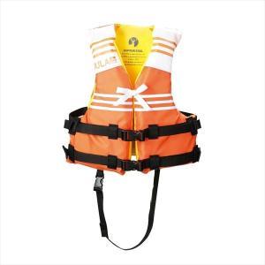 キャプテンスタッグ HULA ライフジャケット子供用 TypeF(オレンジ) US-3005|shoptakumi