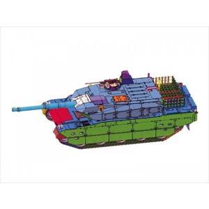 アオシマ 1/72 陸上自衛隊 10式戦車&特大セミトレーラー付属 1/72 ミリタリーモデルキット No.16 shoptakumi