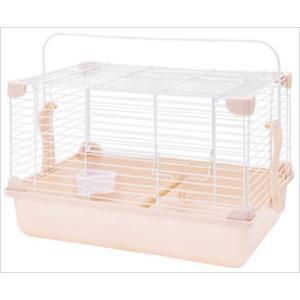 小鳥やハムスターなど小動物とのお出かけに安全なキャリーです。固定できる食器や小鳥用のとまり木付き。床...
