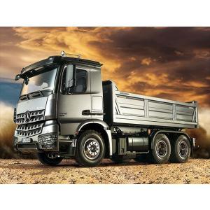 タミヤ  1/14電動RCビッグトラック メルセデス・ベンツ アロクス 3348 6×4 ダンプトラック 56357|shoptakumi