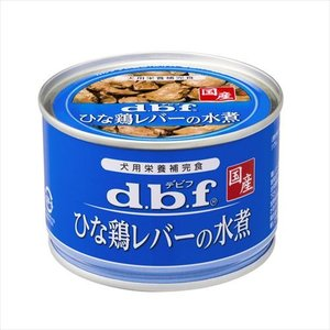 デビフペット ひな鶏レバーの水煮 150g×24個の商品画像