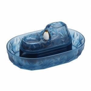パール金属 流氷 ペンギンそうめん流し器(M) D-1407|shoptakumi