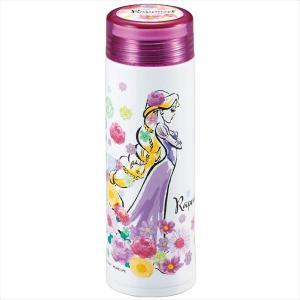 ディズニー軽量パーソナルボトル300[氷止め付][ラプンツェル/フラワー] MA-2213|shoptakumi
