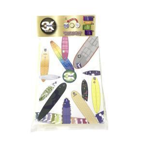 3X+PLUS クリアデッキ LS ファンボード用テールデッキ含む(四角形など24枚入り)|shoptakumi