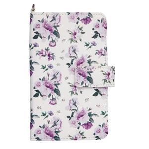 花柄のスマートフォンケース ミラー付き|shoptakumi