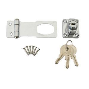 J-456 鍵つき掛金錠 75mm 3本キー 71456|shoptakumi
