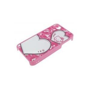 i4S-KT17 iDress iPhone4S/4対応 ハローキティ ミラージュエリーカバー ヒョウ柄|shoptakumi