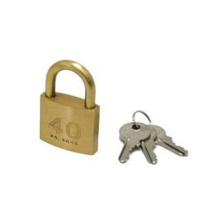 シリンダー南京錠鍵番指定 同一 40ミリ 2045D 入数1個 17254|shoptakumi