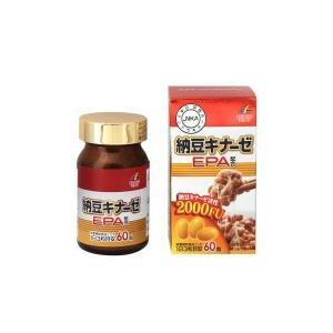ユニマットリケン 納豆キナーゼEPA 24.36g(406mg×60粒) 代引き不可|shoptakumi