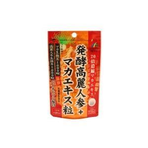 ユニマットリケン 発酵高麗人参+マカエキス粒 18.6g(300mg×62粒)|shoptakumi