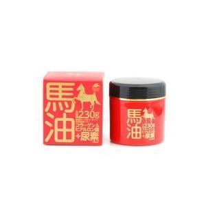 ユニマットリケン 馬油クリーム+尿素 230g|shoptakumi