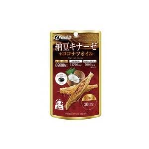 ファイン 納豆キナーゼ+ココナツオイル 40.5g(450mg×90粒)|shoptakumi