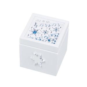 Aメロディボックス 雪の結晶(Let・It・Go) G-6294WH|shoptakumi